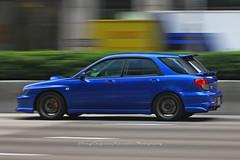 Subaru, Impreza sti, Wan Chai, Hong Kong (Daryl Chapman Photography) Tags: mz8331 pan panning canon 70200l hongkong china sar wanchai 5d mkiii car cars auto autos carspotting carphotography automobile automobiles subaru impreza