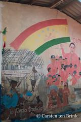 San Blas mural (10b travelling / Carsten ten Brink) Tags: carstentenbrink 10btravelling 2018 americas centralamerica guna gunayala iptcbasic kuna latinamerica latinoamerica panama panamá sanblas centroamerica cmtb islands tenbrink