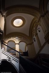 Escalera II (Arquijcarlos) Tags: 2018 sevilla antiguafábricadetabaco andalucía europa universidad detallearquitectónico españa escalera