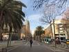 Westward view along Avinguda Diagonal (procrast8) Tags: barcelona spain glories torre tower agbar