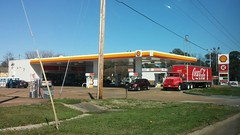 Hernando Shell, post-remodel (Retail Retell) Tags: shell gas fuel station remodel canopy refresh circle k convenience store car wash center hernando ms commerce street desoto county retail update new look 2018 branded