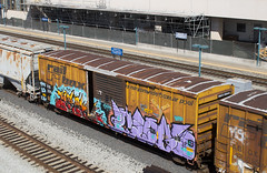 RBOX 39544 (imartin92) Tags: emeryville california unionpacific railroad railway freight train railbox boxcar