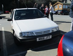 1994 Citroen ZX Advantage TD (occama) Tags: m166jtt citroen zx td diesel advantage 1994 white old car cornwall uk french