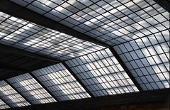 Firenze: lucernario della stazione di Santa Maria Novella