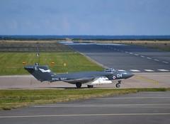 Foxy Lady Departs Leuchars (Gerry Rudman) Tags: de havilland sea vixen faw2 foxy lady xp 924 ds aviation bournemouth hurn