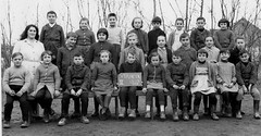 Class Photo (theirhistory) Tags: children kids boys school class form girls teacher jacket coat trousers shoes wellies boots