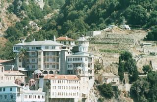 Grigoriou Monastery on Mount Athos