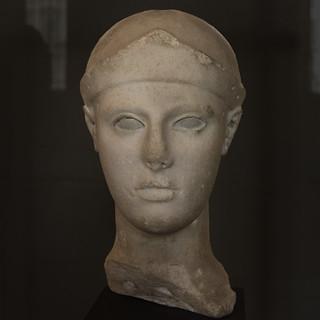 Athena Head from Aegina - I
