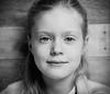 Noa (Erik de Klerck) Tags: portrait portret headshot girl child blackandwhite zwartwit analog analoog mamiya mamiyarb67 rb67 kodak kodaktrix monochrome eyes face hc110 mediumformat 120mm film 180mm f45 kl mamiya180mmf45kl