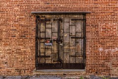 Red Brick (Kool Cats Photography over 9 Million Views) Tags: door red brick lines textures wall architecture artistic oklahoma