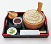 Enjoy Japanese Cooking # 8 (MurderWithMirrors) Tags: rement miniature food meal bowl plate chopsticks mwm udon broth soup pestle mortar tray japanesecooking japanesecuisine samuraifood
