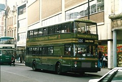 Scan_0004_1988 (djp3000) Tags: f386gvo nct nottinghamcitytransport nottingham bus doubledeckerbus green 386 leylandlion transit publictransport publictransit 506longeaton 506 scannedphoto