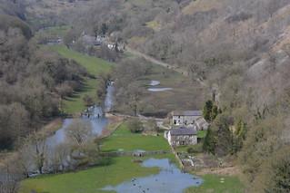 Monsol Dale, Peak District National Park, Derbyshire, England.