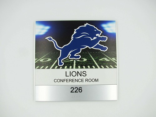 Michigan Sports Conference Room Signs