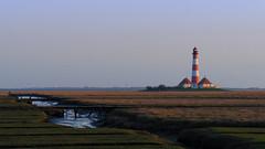 Leuchtturm in Westerheversand (derhalbling) Tags: derhalbling leuchtturm outdoor lighthouse westerheversand westerhever abendstimmung