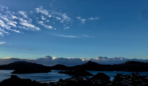Winters Sky, Port Chalmers