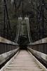 Forbidden (SineQuaNonPhoto) Tags: indiana turkeyrun stateparks landscape nature outdoors bridge footbridge forbidden foreboding ominous bokeh bokehlicious