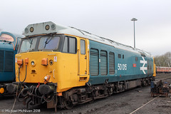 50015 Valliant (Mike McNiven) Tags: valliant diesel locomotive elr eastlancs eastlancashire railway bury manchester rail train tracks