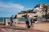 Spring cycling mood (rfabregatmoliner) Tags: peñíscola valencia bici bicicleta pareja bicycle bike couple spring sunny beach playa mediterrani mediterraneo mediterranean spain spanish