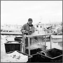 Pescatore_Rolleiflex 3.5B (ksadjina) Tags: 150 2018 6x6 9min abruzzi adoxchs50 giulianova italy nikonsupercoolscan9000ed porto rodinal rolleiflex35b silverfast analog blackwhite film pescatore scan spring