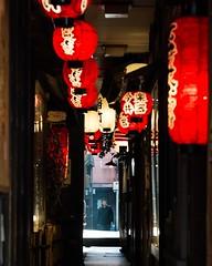 Lantern Alley / Osaka (thedailyjaw) Tags: japan osaka city people japanese lanterns lighting lettering kanji language culture bento ramen lights food sushi japanesepeople d610 nikon