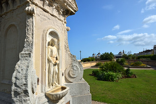 Jubilee drinking fountain memorial to Queen Victoria's reign (Waltrop Gardens in Herne Bay, Kent)  -  (Selected by GETTY IMAGES)