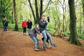 Woodland Swing - Beech Copse, Godshill