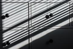 lines and shadows (jojoannabanana) Tags: 3662016 abstract dresser light lines morning pattern shadows
