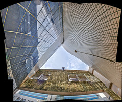 A piece of sky (Kai-Ming :-))) Tags: sky building hongkong kaiming kmwhk hdr stitched