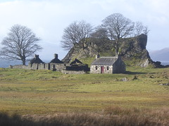 Deserted Village of Sailean (Salen) , Island of Lismore (Julie Rutherford1) Tags: croft lismore salen deserted village julie rutherford scotland island derelict dry stone walls delapidated sailean rock trees sea abandoned