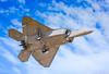 """""""Landing"""" (cjf3 - f15tog) Tags: usaf unitedstatesairforce landing overhead stealth f22 7d2"""