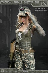 FIRE GIRL FG-048 Tactical Female Shooter - a3 (Lord Dragon 龍王爺) Tags: 16scale 12inscale onesixthscale actionfigure doll hot toys firegirl