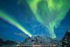 it's just magic (Stefan Giese) Tags: nikon d750 walimex 14mm walimex14mmf28 auroraborealis polarlicht northernlights grün himmel dämmerung bluehour blauestunde uttakleiv lofoten norwegen norway