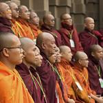 Burmese monks visiting Bangkok thumbnail