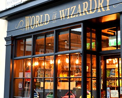 World of Wizardry (Tony Worrall) Tags: britain english british gb capture buy stock sell sale outside outdoors caught photo shoot shot picture captured city england regional region area northern uk update place location north visit county attraction open stream tour country welovethenorth shop shopping front frontage window shambles lit lights shopfront yorkshops theshopthatmustnotbenamed must not named worldofwizardry world wizardry magic harrypotter story fantasy