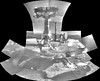 Portrait of Opportunity, variant (sjrankin) Tags: 25march2018 edited nasa primage pia22222 grayscale panorama mosaic opportunity mars endeavourcrater