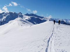 Alpbachtal (hugoholunder) Tags: alpbachtal sonne schnee skiwandern wolken tirol österreich