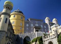 around Sintra: (Christopher DunstanBurgh) Tags: palácionacionaldapena sintra portugal unescoworldheritage