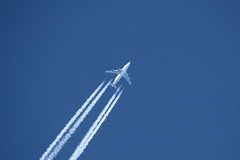 N747BC Boeing 747-4J6LCF Dreamlifter at FL370 Eastbount on 26 March 2017 Jersey (Jersey Aviation Images 2018) Tags: airplane aircraft aeroplanes aeroplane aircraftspotters aviation planes flyingmachines