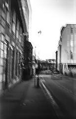 Cosmic 35 kodalith iso 12  016 (D A Willetts) Tags: kodak kodalith lith lithfilm multipleexposure street town walsall mono monotone blackandwhite 35mm cosmic35 smena8