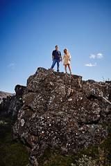 Nicole & Mike (LalliSig) Tags: portrait portraiture people engagement photoshoot þingvellir iceland national park summer august