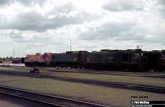 J694 XA1411 A1512 A1513 in pink Forrestfield Loco depot (RailWA) Tags: railwa philmelling westrail joemoir xa1411 a1512 a1513 pink forrestfield loco depot