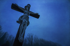 The Great Divide (gimmeocean) Tags: goodfriday jesus crucifixion