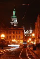 Old Lviv streets (Sergey Scherbina) Tags: ukraine lviv city street night lights