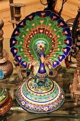 jaipur peacock (kexi) Tags: jaipur rajasthan india asia vertical souvenir peacock colors canon february 2017 enamel instantfave