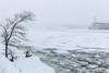 Le Saint-Laurent en hiver (Paul Leb) Tags: montréal québec canada neige nieve snow tempête storm stlawrenceriver fleuvesaintlaurent glace ice