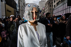 EasterParade2018(NYC)4 (bigbuddy1988) Tags: people portrait photography new city manhattan digital art nikon d7000 strobe flash woman easter white newyork easterparade wide wideangle sb600
