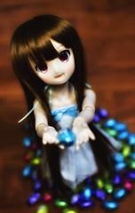 DSC_0695 (Gerard N.) Tags: ドルフィードリーム volks vinyl bjd doll dollfie dollfiedream mdd ドール easter chocolate eggs