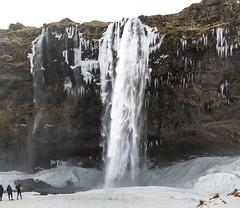 Seljalandsfoss (José M. Arboleda) Tags: paisaje waterfall seljalandsfoss cascada catarata rio seljalandsá agua nieve hielo roca islandia canon eos 5d markiv ef1635mmf4lisusm josémarboledac