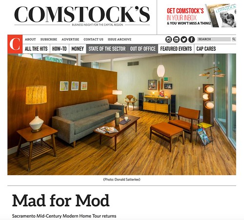 "Comstock's Magazine: ""Mad for Mod"" - May 2, 2016"